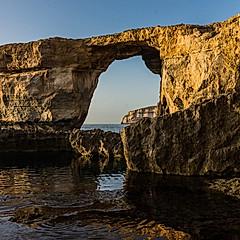 Fenêtre d'Azur et Blue Hole, Dwejra, Gozo