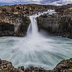 Aldeyjarfoss, Islande