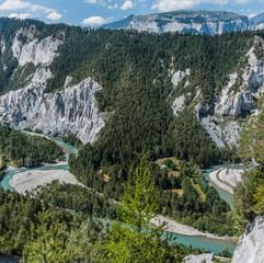 Ruinaulta - le Grand Canyon de Suisse
