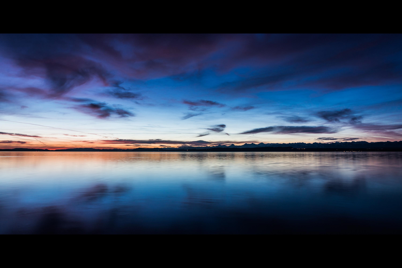 Lac de Neuchâtel, Suisse