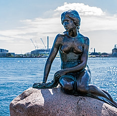 Petite Sirène, Copenhague