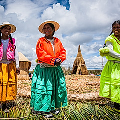 Île flottante, Puno