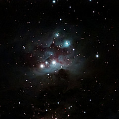 NGC1977 - Nébuleuse de l'Homme qui Court
