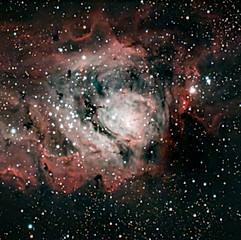 NGC6523 (M8) - Nébuleuse de la Lagune