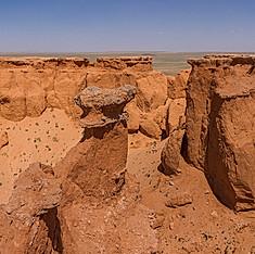 Ulaan Shiree, désert de Gobi, Mongolie