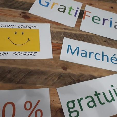 Zone de gratuité ou Gratiféria le samedi 26 octobre devant Culture Vrac