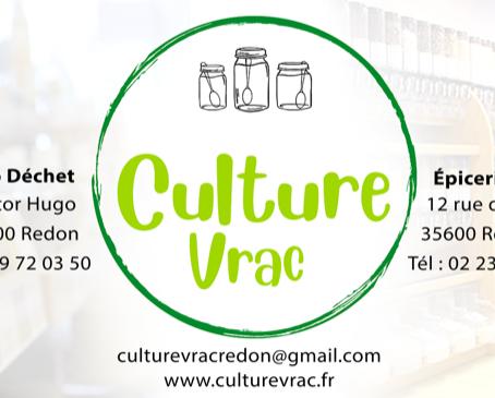 Notre 2ème boutique Culture Vrac a ouvert ses portes à Redon