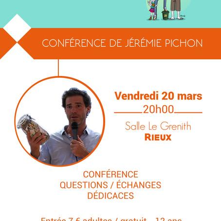 Conférence de Jérémie Pichon le 20 mars 2020
