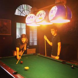 New Orleans Pool Hall.