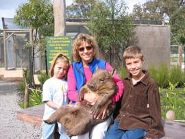 Wyatt, Women, and a Wombat