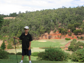 Outback Golfing