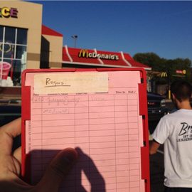 McDonalds Detention.