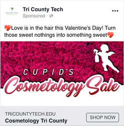 Cosmetology's Cupid Sale
