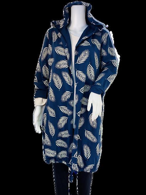 Leaf Design Long Jacket