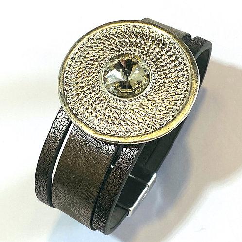 Coin strap bracelet
