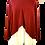 Thumbnail: Roll neck V cut jumper