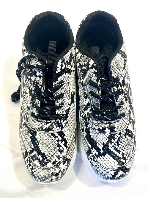 Mock Snakeskin trainer
