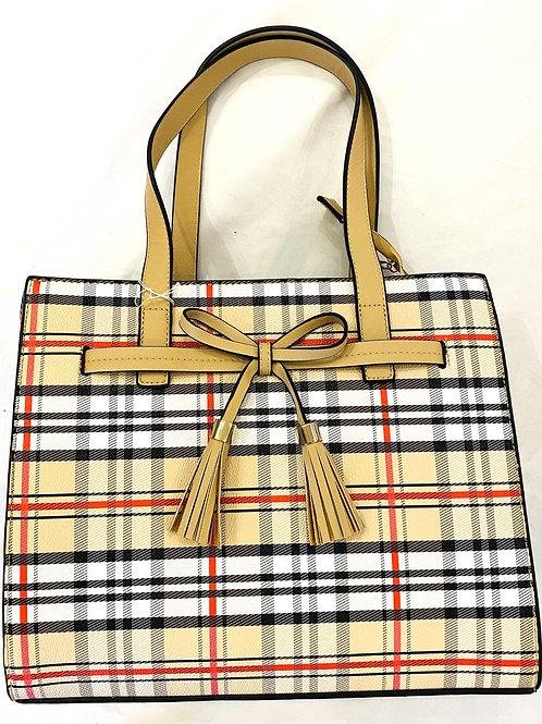 Tartan & Bow handbag