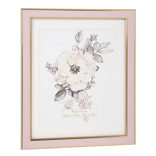 Pink and Rosy Gold Frame