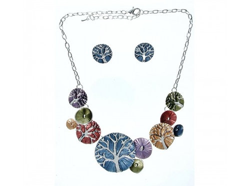 Tree of Life Necklace & Earring set