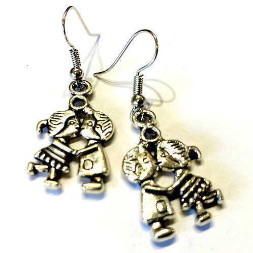BFF earrings
