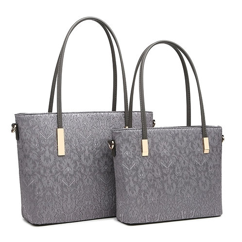 Jaquard style handbag SMALL