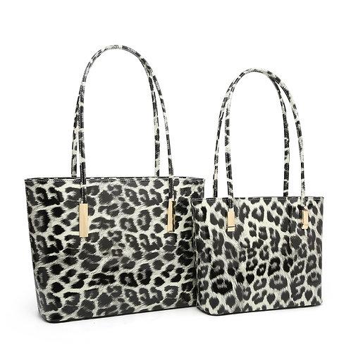 Small Leopard print handbag
