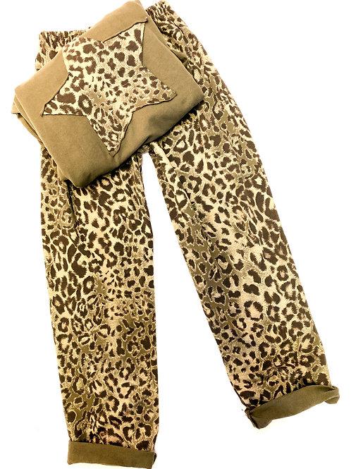 Leopard Star Lounge Suit