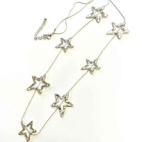 Long Line Star necklace