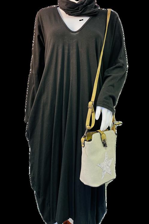 Long Jersey Snood Dress