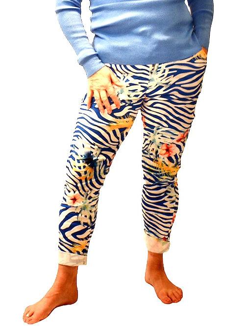 Tropical Zebra trousers