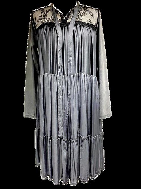 Satin and Lace tunic dress