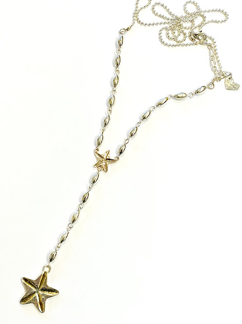 Star fish long line necklace
