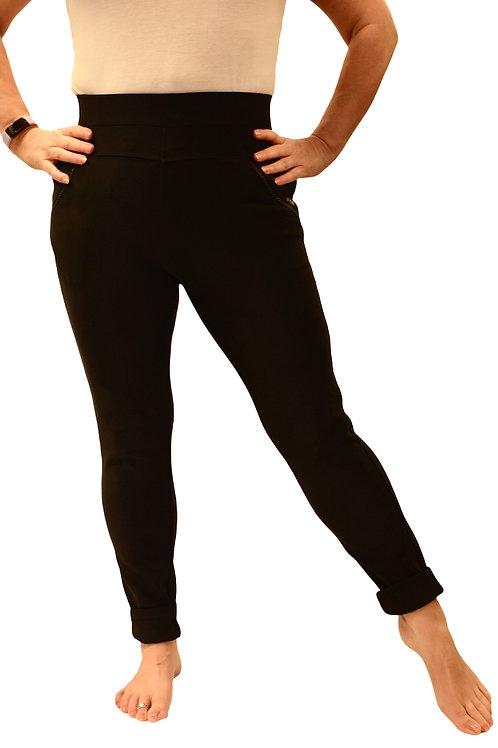 Body form Black Leggings