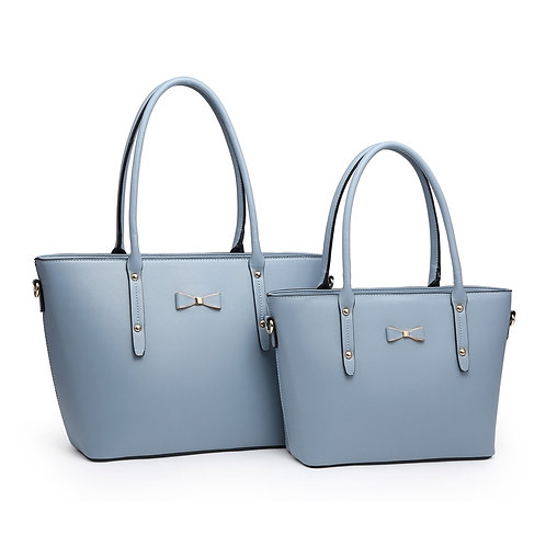 Large Bow fronted tote style bag