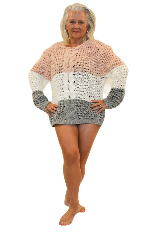 Chunky Loose knit candy jumper