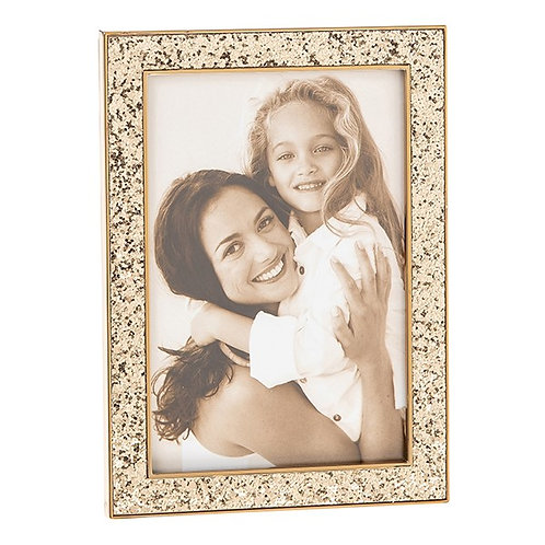 Golden Glitter Frame 4x6 and 4x4
