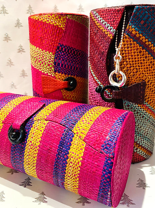 Raffia Large Jewellery box