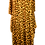 Thumbnail: Long Line Leopard Dress with snood