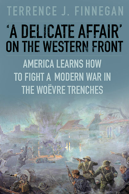 Cover of Terrence Finnegan's book on the battle of Seicheprey.