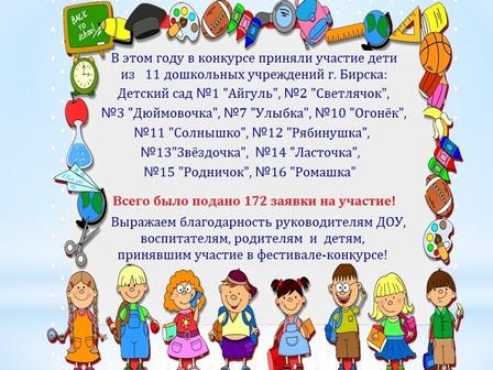 """Результаты IV городского фестиваля-конкурса """"Карусель талантов""""- завершён!"""