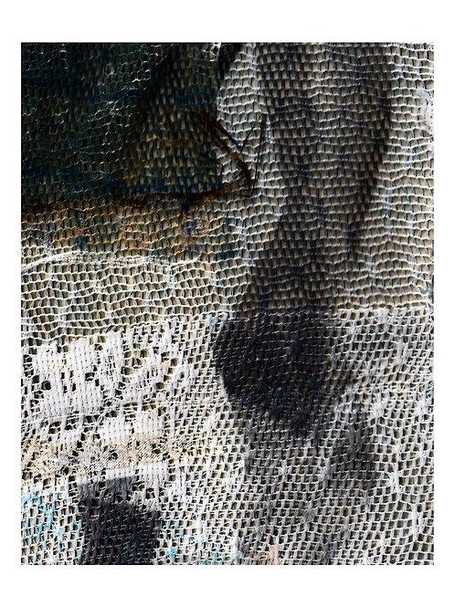 Ephemera Question Triptych 153 cm x 123 cm.