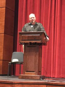 John Waynes Grandson Lecture