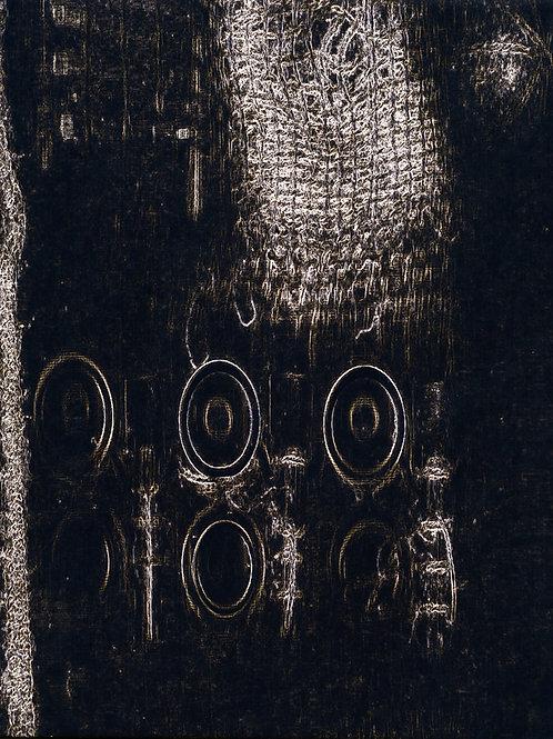 Ephemera Memory Dark 102cm x 82cm.