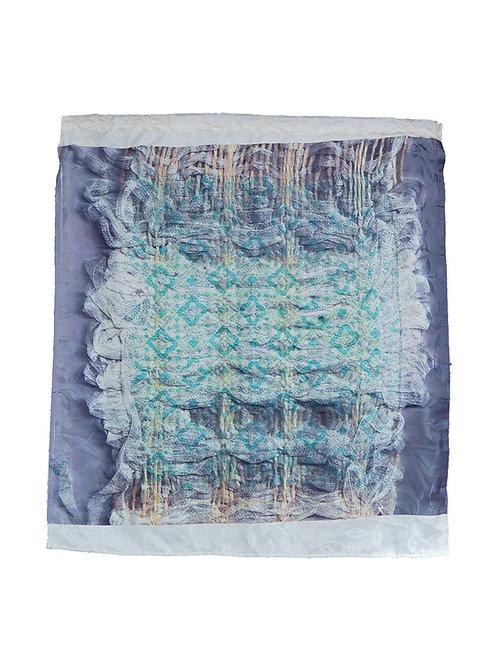 Ephemera Weave Layered Textile 102 cm by  82cm.