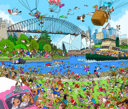 Wheres Timmy 1 SydneyHarbour