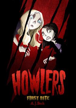 'Howlers' ebook cover art