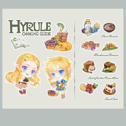 Stickers/Decals/HyruleCookingGuide