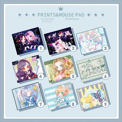 MousePad/Prints/Customize/ Select your favourite