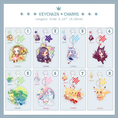 Key Chain/Charm/Select your favorite
